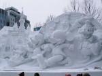 雪かきに見るサービス精神